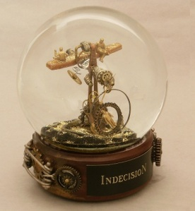 Indecision Snow Globe