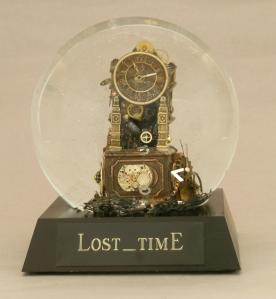 Lost_Time custom snow globe