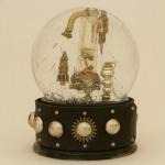 Rocket Snow Globe