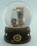 SteamPunk Snow Globe megaphone
