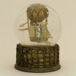 Dances with Clouds, airship snow globe