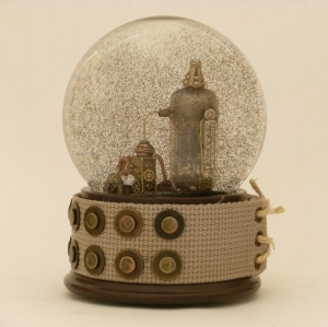 Radio Silence Snow Globe - Camryn Forrest Designs 2012