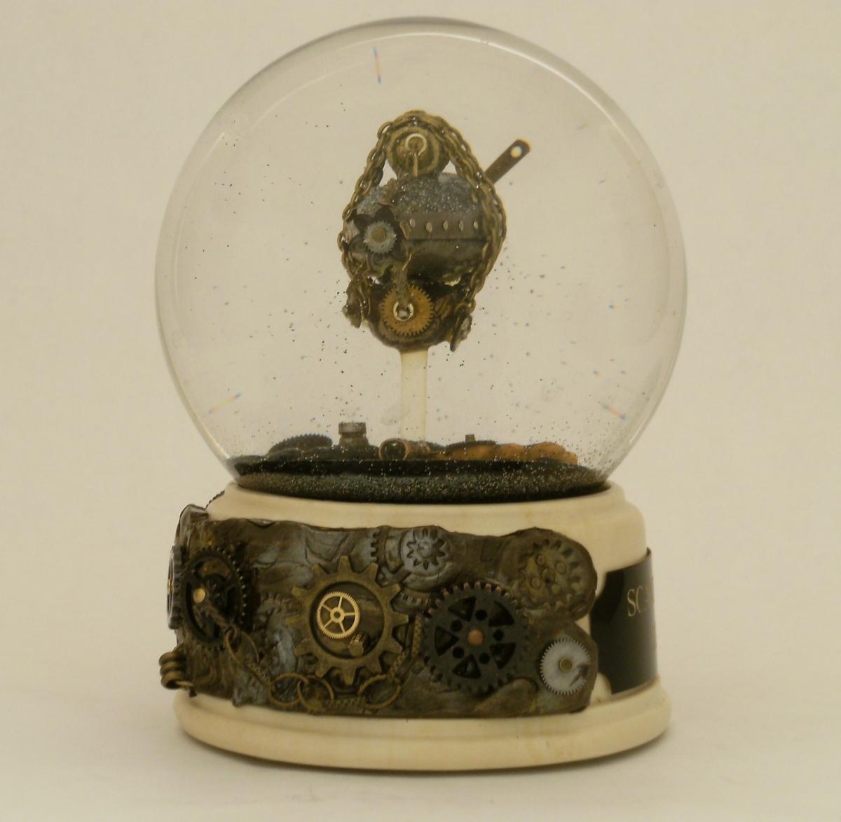 Scavenger Hunt snow globe