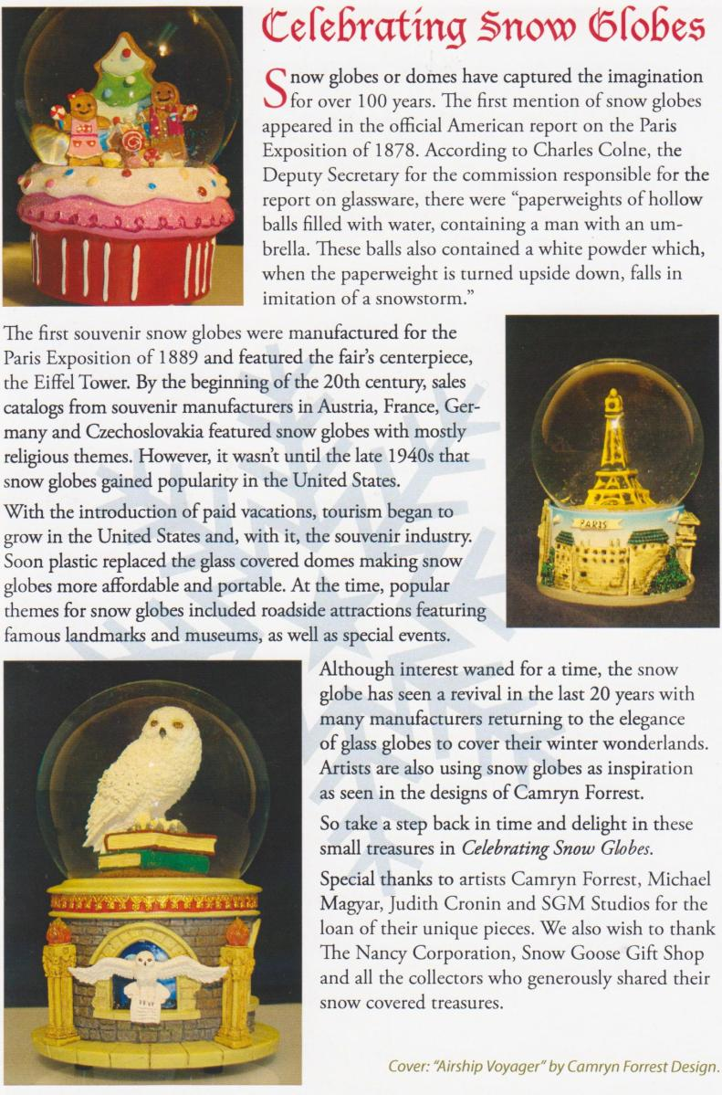 Sandwich Glass museum brochure page 2