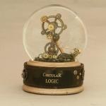 Circular Logic Snow Globe, Camryn Forrest Designs 2012