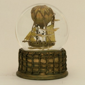 Dances With Clouds snow globe