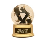 Not a Level Playing Field snow globe, Camryn Forrest Designs, Denver, Colorado