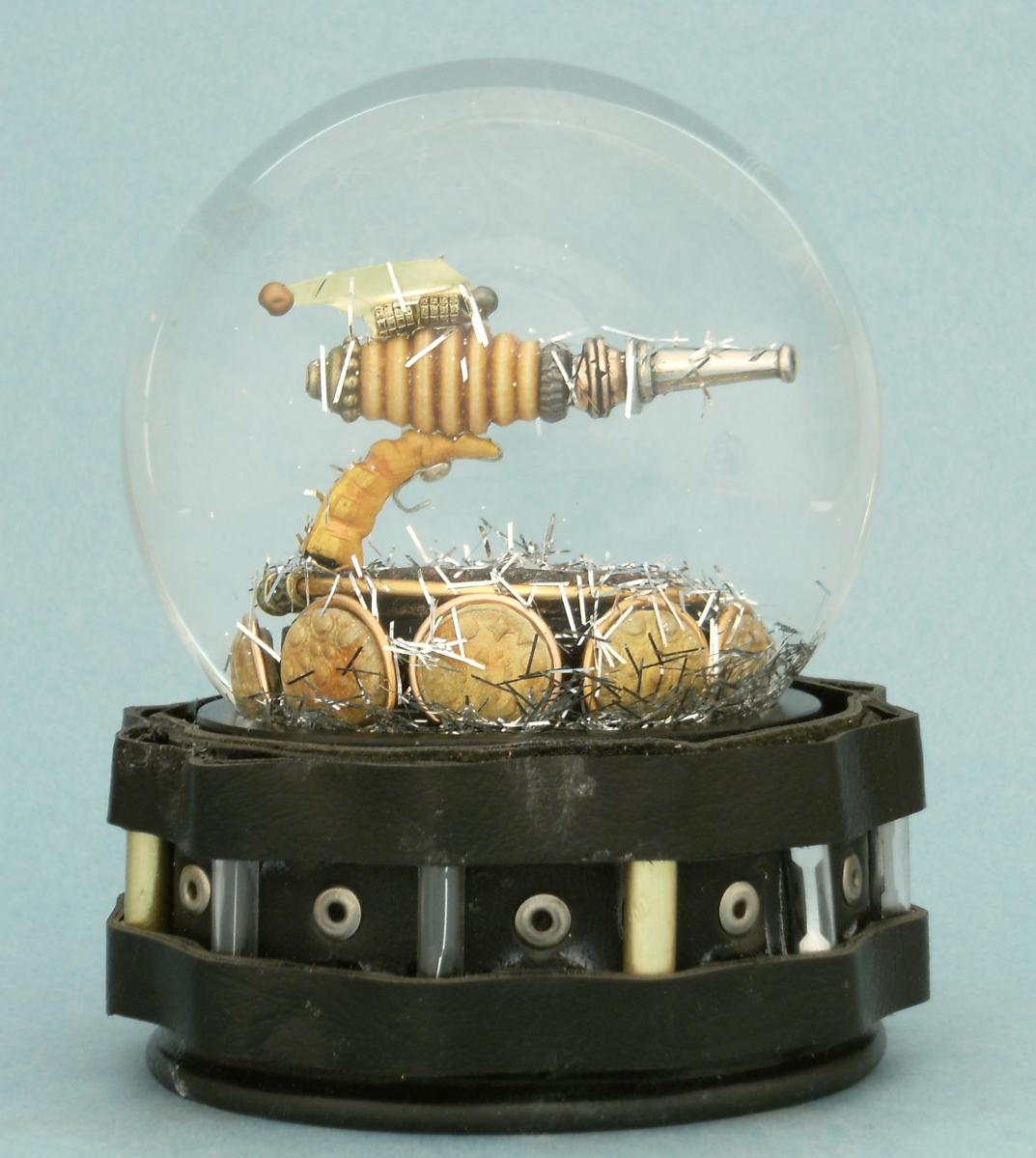 Ray Gun Globe, Camryn Forrest Designs 2012