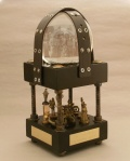 Sacramento Steampunk Snow Globe, Camryn Forrest Designs 2012 (Collection of Doug Hack)