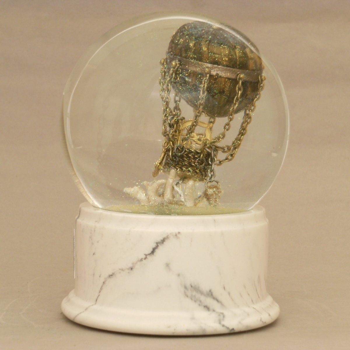 Uncharted Skies Snow Globe, Camryn Forrest Designs 2012