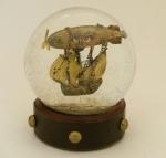 Airship Voyager Snow Globe, Camryn Forrest Designs
