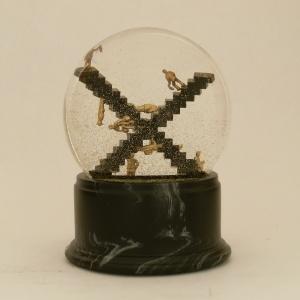 Crossroads, OOAK Escher Snow Globe, Camryn Forrest Designs 2012