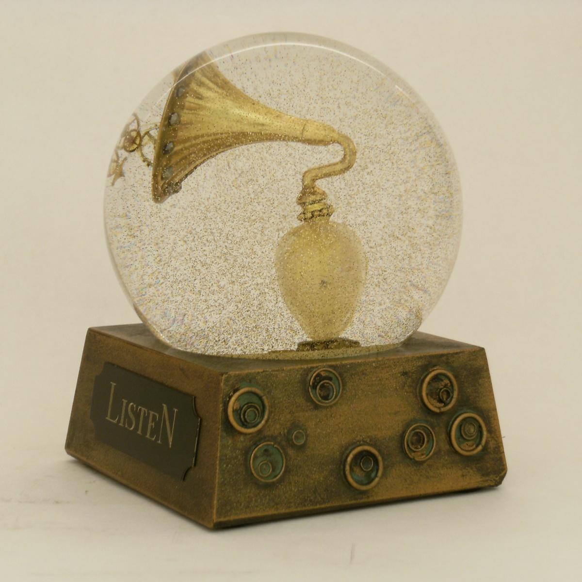 Listen Snow Globe, Camryn Forrest Designs 2012