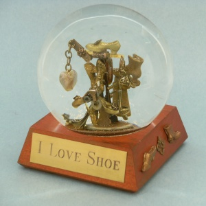 I Love Shoe - snow globe, Camryn Forrest Designs 2013
