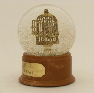 Here to Stay Heart snow globe, Camryn Forrest Designs 2013