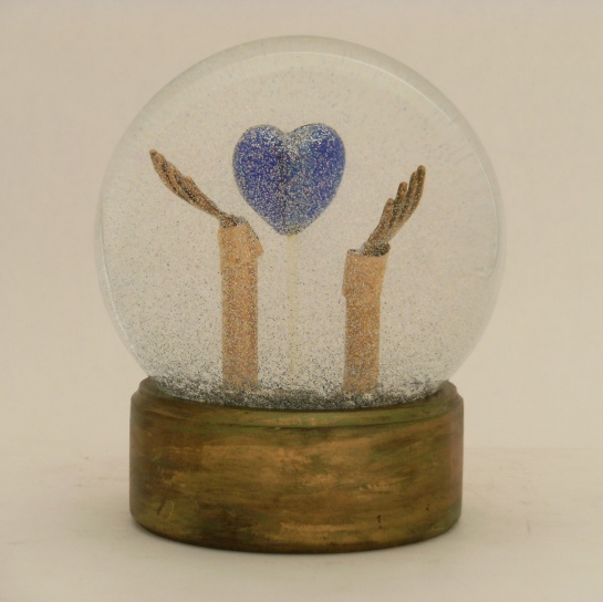 Let It Be - Snow Globe, Camryn Forrest Designs 2013