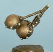 Steampunk Cherries Snow Globe, Camryn Forrest Designs 2013