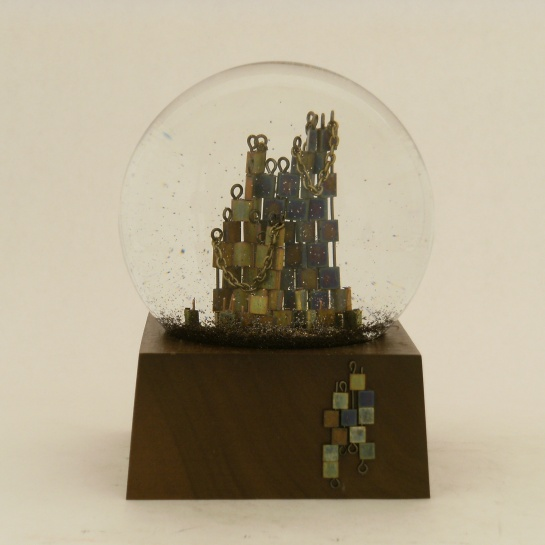 Seeking Closure Snow Globe, Camryn Forrest Designs 2013