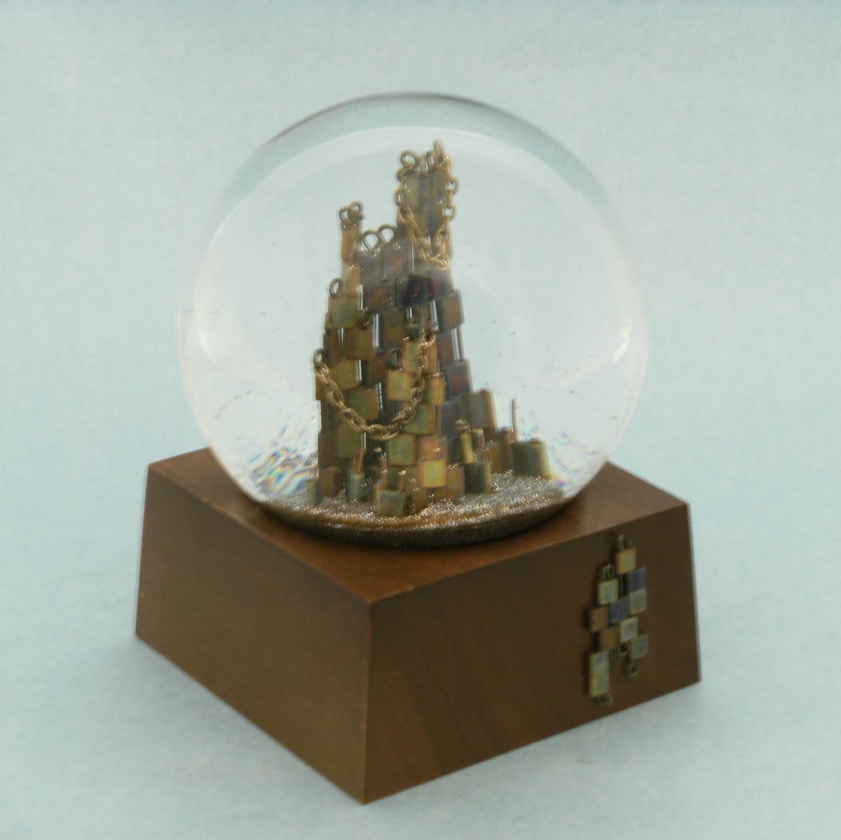 Seeking Closure Snow Globe, Camryn Forrest Designs 2013