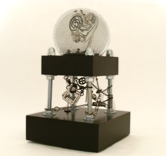 It's Complicated Heart Snow Globe, Camryn Forrest Designs 2013