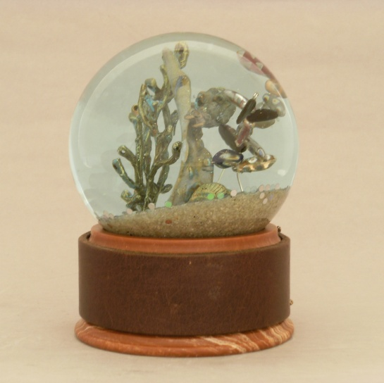 Diver Waterglobe by Camryn Forrest Designs 2013
