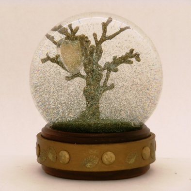 Where Love Grows - one of a kind snow globe, Camryn Forrest Designs 2013