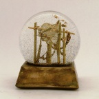 Mended Heart Snow Globe, Camryn Forrest Designs