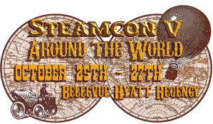 logo steamcon V