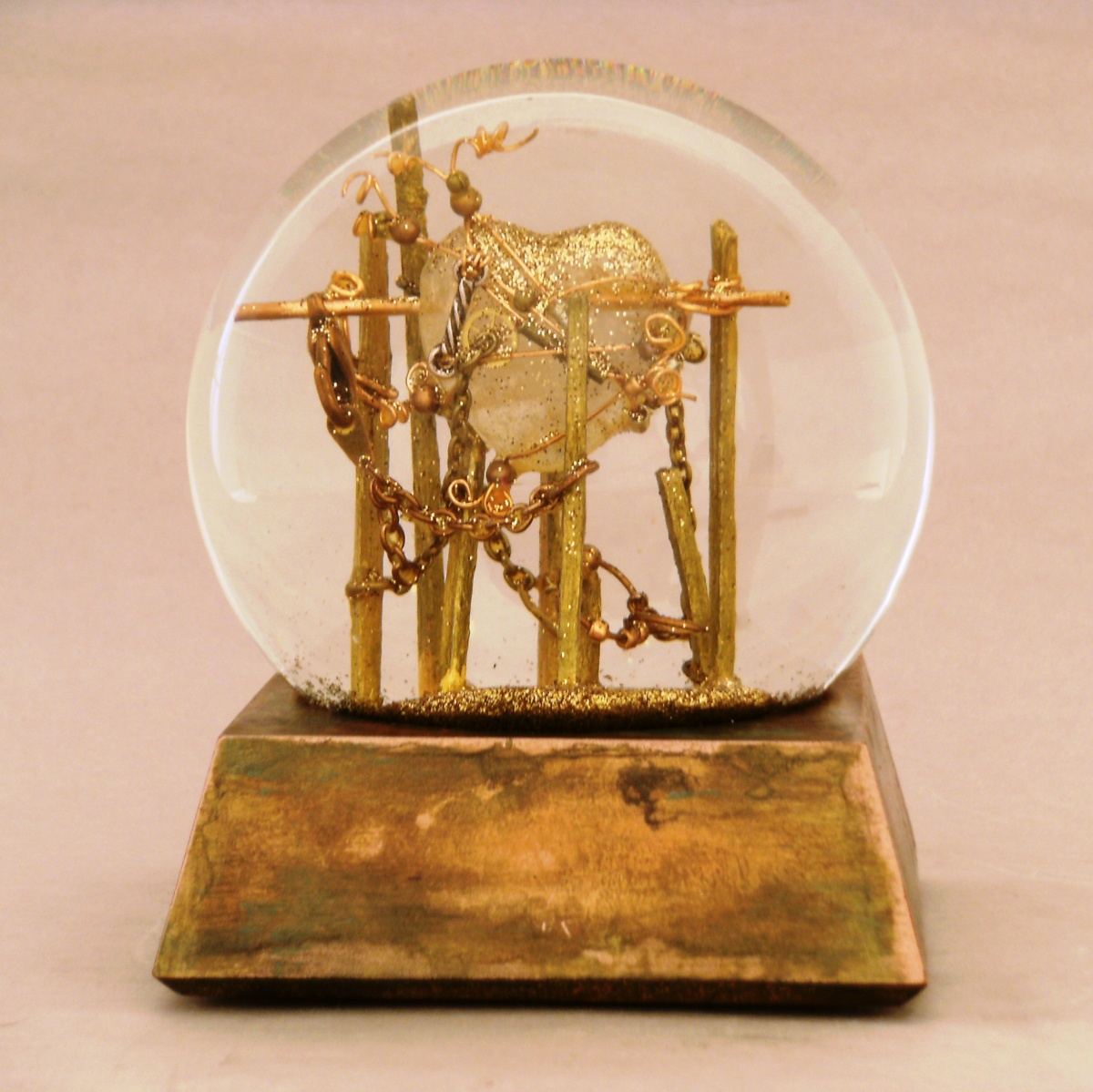 Mended Heart Snow Globe, Camryn Forrest Designs 2013