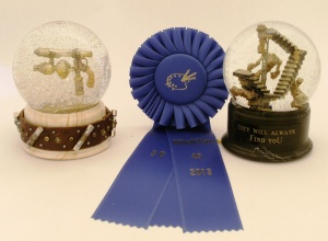 MileHiCon Blue Ribbon for 3D artwork. Camryn Forrest Designs, 2013