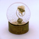 Heart of Gold sparkle snowglobe, Camryn Forrest Designs, 2013