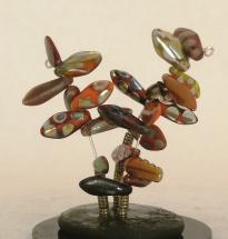 Fired Up custom snow globe, Camryn Forrest Designs, 2013