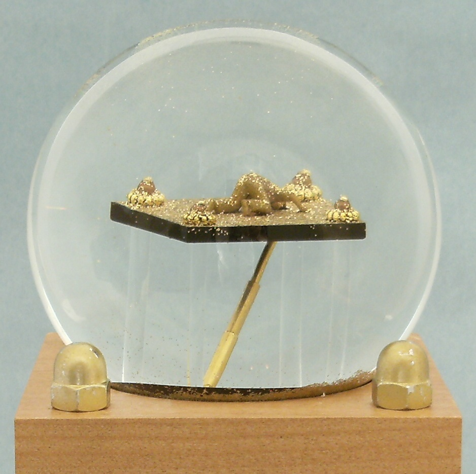Things Are Looking Up custom snow globe, Camryn Forrest Designs 2014