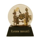 Random Thoughts Snowglobe, Camryn Forrest Designs 2014