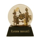 Random Thoughts Snowglobe, Camryn Forrest Designs 2014