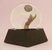 Reach custom snow globe, Camryn Forrest Designs, Denver, Colorado