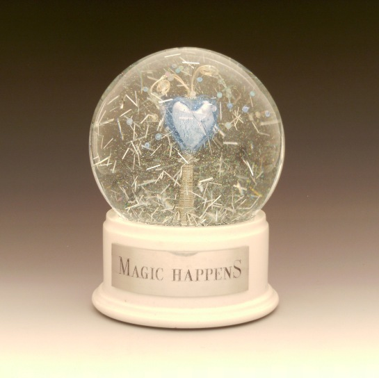 Magic Happens Snow Globe, Camryn Forrest Designs 2014