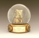 Going Steampunk custom snow globe by Camryn Forrest Designs
