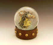 Renegade Airship snow globe, Camryn Forrest Designs, Denver, Colorado
