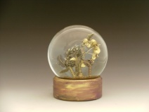 Kaleidescepe of Butterflies snow globe, Camryn Forrest Designs, Denver, Colorado