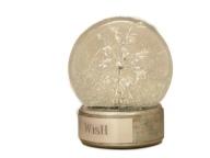 WISH snow globe, Camryn Forrest Designs 2015