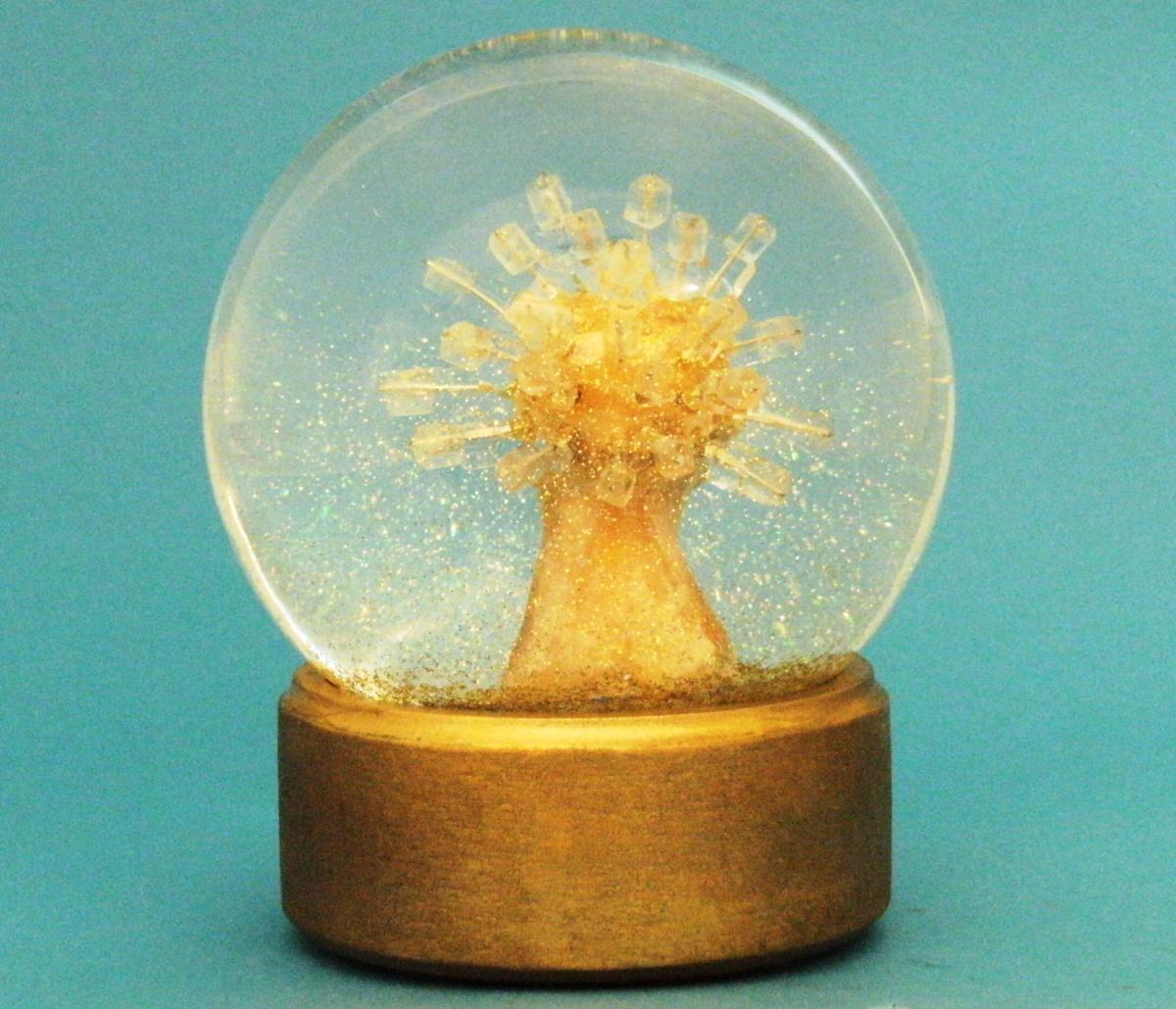 CHILL snow globe, Camryn Forrest Designs, 2015
