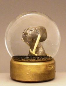 Hammerhead snow globe Camryn Forrest Designs 2015