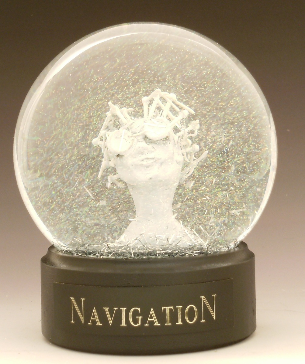 Navigation, Miniature head sculpture, Camryn Forrest Designs, Denver Colorado