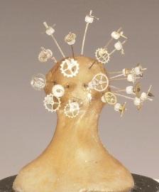 Reception, Miniature head sculpture, Camryn Forrest Designs, Denver Colorado