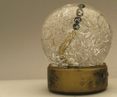 BANG snow globe Camryn Forrest Designs Denver, CO