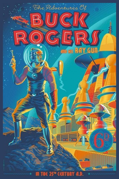 Buck Rogers comic book cover