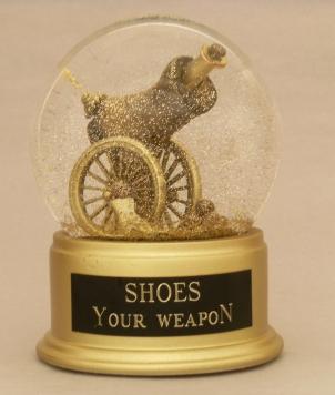 Shoes Your Weapon, Camryn Forrest Designs, Denver, CO