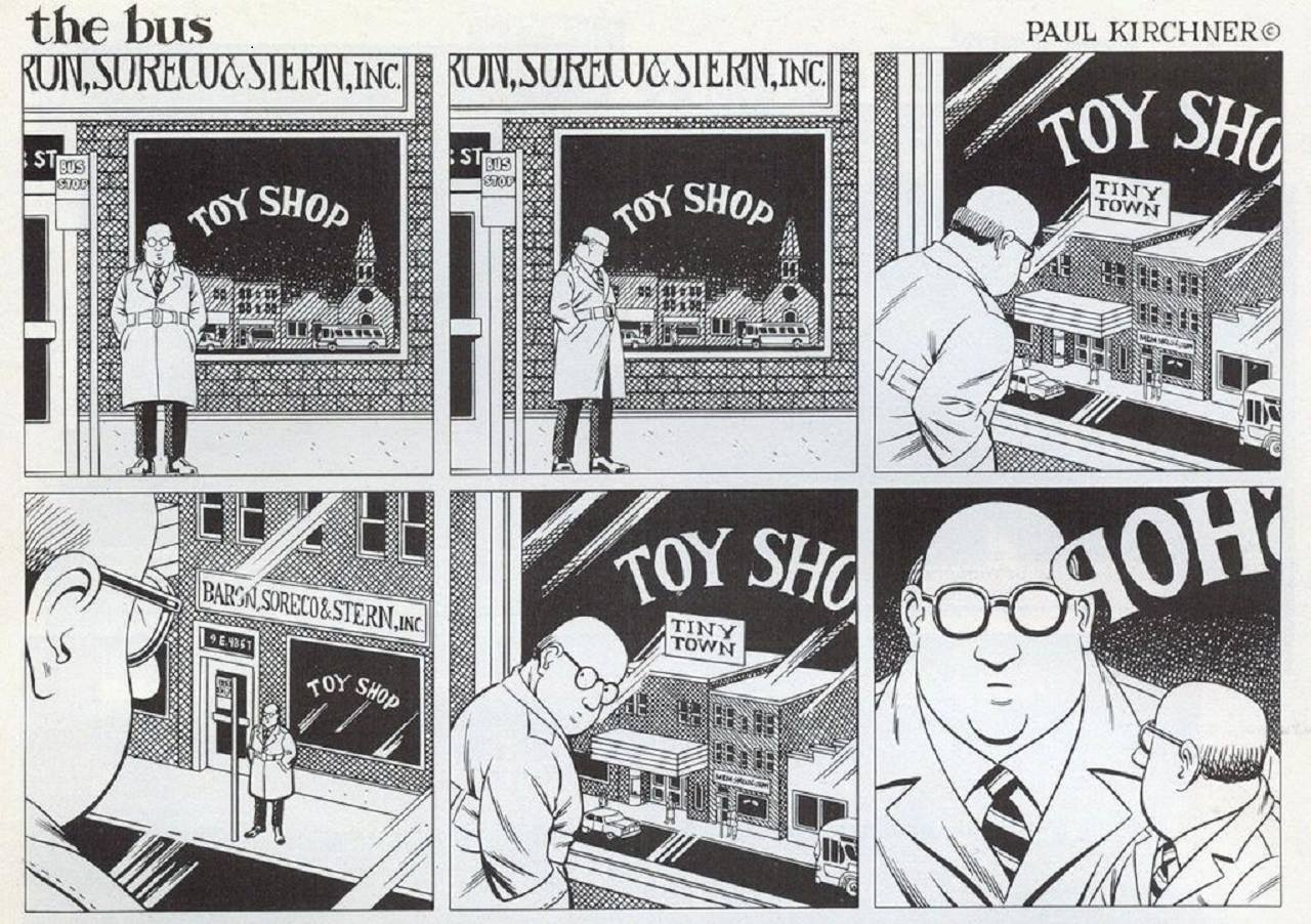 """Tiny Town """"the bus"""" by Paul Kirchner"""