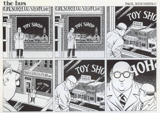 "Tiny Town ""the bus"" by Paul Kirchner"